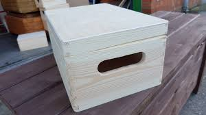 Plain Wooden Boxes To Decorate Plain Wood Wooden Box Wooden Chest Trinket box Box for toys 47