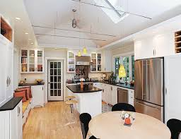 vaulted ceiling kitchen lighting. traditional kitchen by mick hales vaulted ceiling lighting m