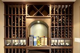 types of wine racks. Brilliant Types Top Half Of The Wood Wine Racks With Archway Display Niche Intended Types Of Wine Racks