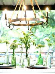 chandeliers garden candle chandelier outdoor