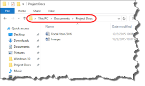 Working with the File Explorer in Windows 10 | University ...
