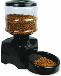 Automatic Feeder, PYRUS Large Cat Feeder Electric Pet Dry Food Container with LCD Display Hot Sale: