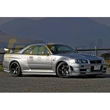 nissan skyline r34 tuned. nissan skyline r34 gt to gtr ztune wide body conversion kit tuned