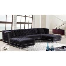 black sectional sofa. Unique Black Quickview With Black Sectional Sofa Wayfair