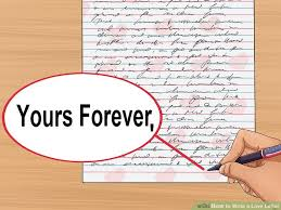 Free Sample Love Letters To Wife Simple How To Write A Love Letter With Sample Letters WikiHow