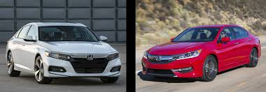 2018 Honda Accord Vs 2017 Honda Accord Comparison