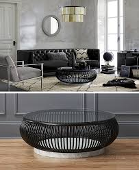 furniture ideas round coffee tables made from glass