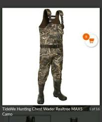 Itasca Marsh King Waders Size Chart Details About Tidewe Chest Wader Camo Hunting Wader For Men Waterproof Max5 Realtree Size 7