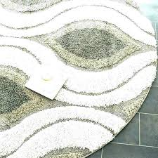 3 ft wide rug runner 4 foot round braided bath rugs designs within idea wi