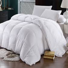 details about goose down comforter 600 thread count oversized winter weight duvet insert