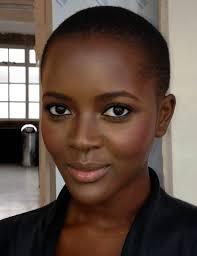 simple make up for dark skin