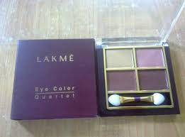 lakme eyeshadow quartet