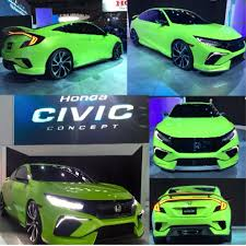 2016 civic si coupe production vs concept? | 2016+ Honda Civic ...
