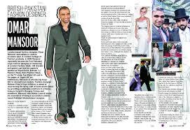 Interview Of A Fashion Designer Interview Omar Mansoor British Pakistani Fashion Designer