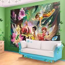 disney fairies forest wallpaper mural