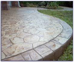 stamped concrete patio vs pavers patios home decorating ideas stamped concrete vs pavers