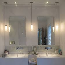 above sink lighting. Pendant Lighting For Bathroom Improbable How High Should Pendants Be Hung Above Sink Large
