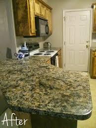 Imitation Granite Countertops Kitchen Castle Diy How To Faux Granite Countertops