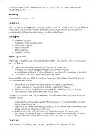 Luxury Special Ed Teacher Resume Resume Ideas Custom Special Education Teacher Resume