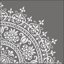 Wall Stencil Patterns Stunning LOVE I May Become Addicted To This Website Pinned From The