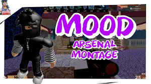 This shows a list of all thumbnails. Mood Roblox Arsenal Montage Youtube