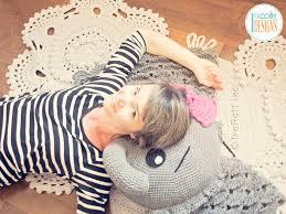 Crochet Pillow Patterns Best Josefina And Jeffery Elephant Pillow PDF Crochet Pattern IraRott Inc