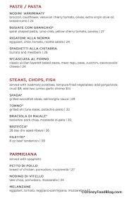 maria enzo s menu screenshot