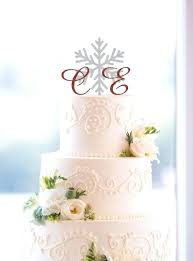 Winter Wedding Cake Topper Kokopelligroovecom