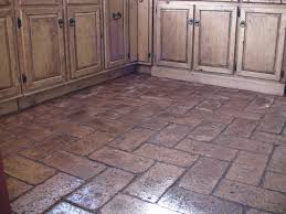 Brick Flooring In Kitchen How To Lay A Ceb Floor Recipe Floors Kitchen Brick Flooring