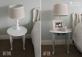 Small Picture Table Makeover with Chalky Finish Paint from Americana My