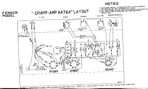 fender champ wiring diagram fender wiring diagrams online fender champ