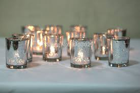 12pcs gorgeous glittery gold mercury glass candle holders gold silver votive holders tealight holder