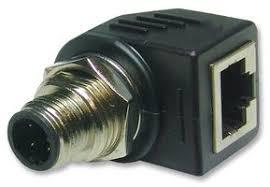 rjs 12d04fm rs8001 amphenol sine tuchel in line adaptor m12 amphenol sine tuchel rjs 12d04fm rs8001 in line adaptor m12 plug 4 ways rj45 receptacle 8 ways