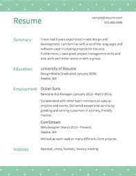 How To Make An Resumes