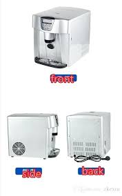 countertop ice cream maker automatic bullet ice maker ice machine for family small