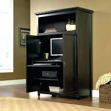 computer armoire desk cabinet corner computer desk furniture black painted wooden computer photo the best regarding corner computer cabinet armoire desk