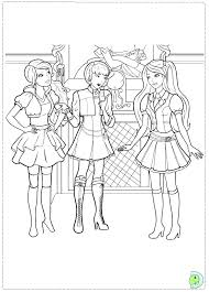Barbie Coloring Pages Free Printable Barbie Coloring Pages Princess