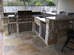 countertop materials for your outdoor kitchen