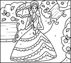 Small Picture Princesses Coloring Online