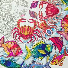 Finished Coloring Pages Awesome Stock Lost Ocean Coloring Book