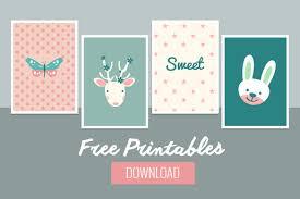 Printable Room Decor Sweet Baby Wall Decor Free Printable Belivindesign
