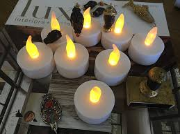 Amazon.com: Flameless LED Tea Light Candles, Vivii Battery-powered  Unscented LED Tealight Candles, Fake Candles, Tealights (36 Pack): Home  Improvement