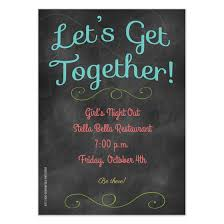 Team Get Together Invitation Lets Get Together Invitations Cards On Pingg Com