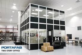 internal office pods. Two-Story Office - PortaFab Modular Inplant Buildings Internal Pods A