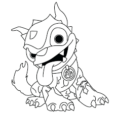 Coloring Pages Pop Fizz Color Printable Free For Skylanders Colors Book