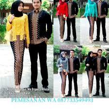 Baju couple kondangan sangat tepat untuk kamu dan pasangan gunakan. Graha Batik Baju Batik Couple Kondangan Kekinian