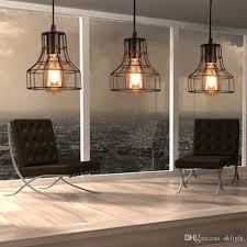 pendant lighting bar. Loft Retro Hanging Lamp Industrial Minimalist Iron Pendant Light Bar Cafe Restaurant Warehouse E27 Holder Vintage Lights Modern Lighting I