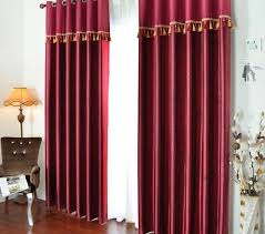 bright red curtain panels bright red curtains made of cotton and poly for blackout girls