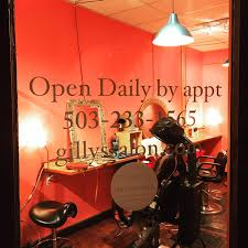 hair is your crown we offer haircuts and organic color for all ages and genders gilly s salon has been located at 2512 se clinton street since 2005