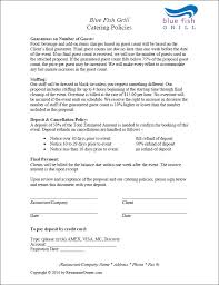 Catering Contract Template Best Catering Agreement Metierlink
